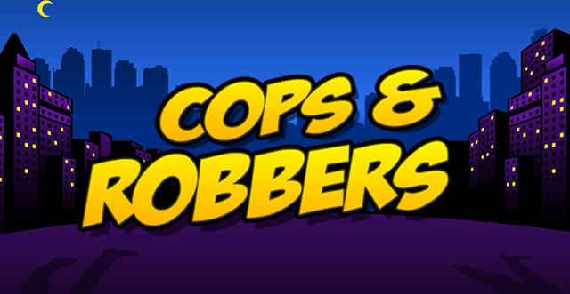 Cops and Robbers Slot Banner