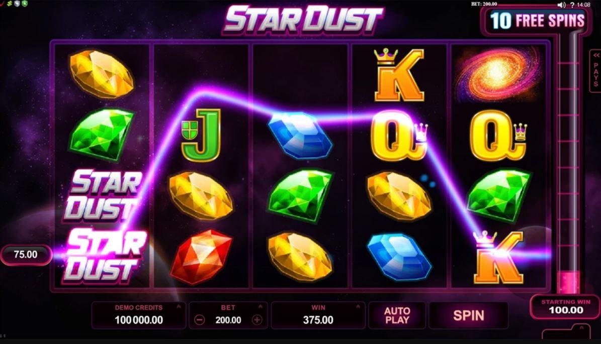 Stardust Slot Gameplay
